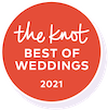 "The Knot ""Best Of Weddings"" Badge"